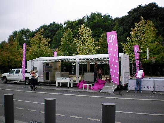 ...im Rahmen des Berlin-Marathon 2010.
